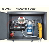 """""""SECURITY BOX"""" 24V Completa di contalitri elettronico, filtro 30micron, tubi e pistola autom."""